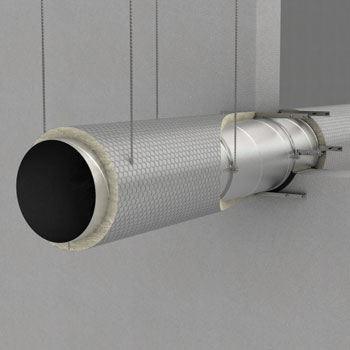 Fire protection of ventilation ducts