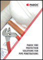 PAROC fire protection solutions for pipe penetrations