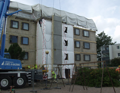 The Paroc Innova Project - a new, innovative method to carry out energy efficient renovations on multi-storey buildings