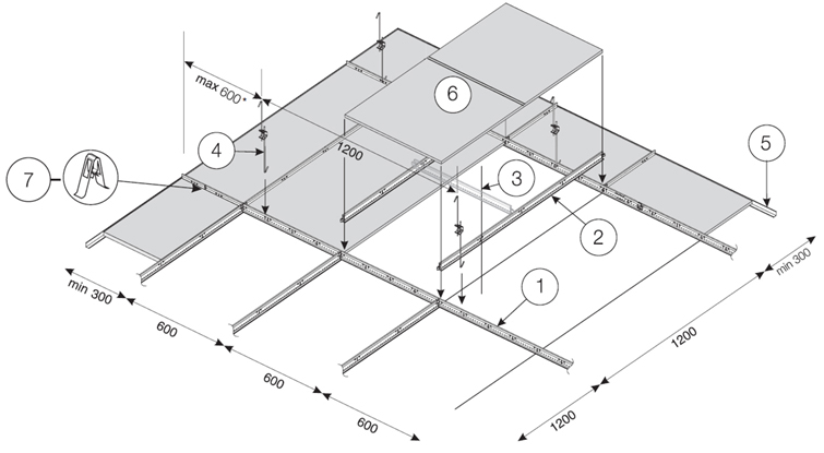 Installation guidelines for suspended ceilings - Paroc.com