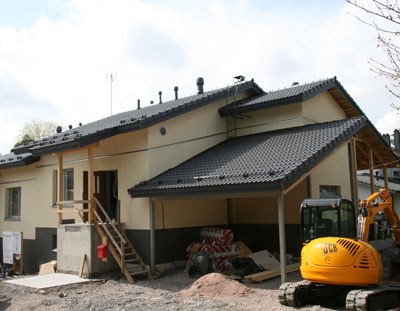 Paroc Passive House is the first passive house in Finland