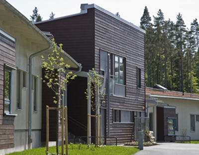 In the housing area Stadsskogen in Alingsås a preschool has been build with passive house technique
