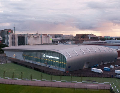 Extension of Exhibition Center Helsinki with PAROC stone wool