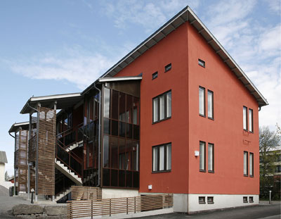 Apartment house with PreWIS-solution provided by Paroc in Vaasa