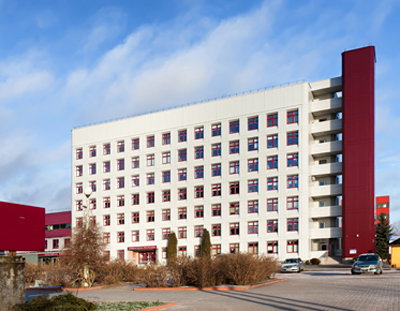 Vilnius University Hospital is insulated with PAROC stone wool.