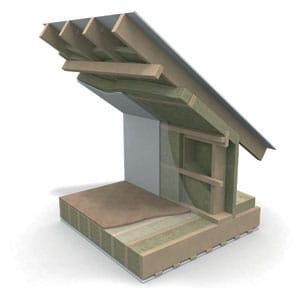 Pitched Roofs Roof Trusses Warm Attic Paroc Com