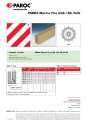 PAROC Marine Fire Slab 100 for stiffeners