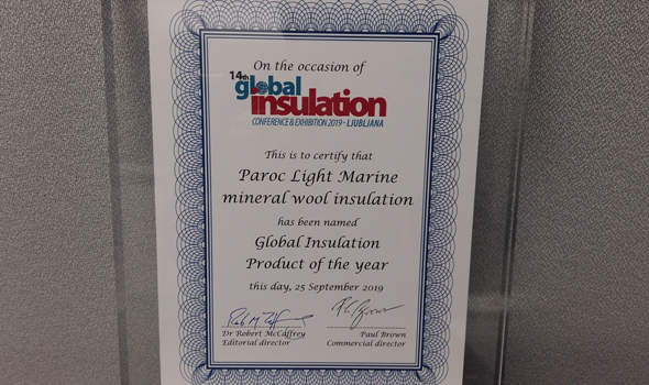 PAROC Light Marine product of the year